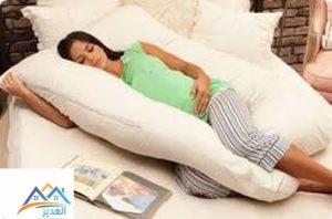 النوم للحامل