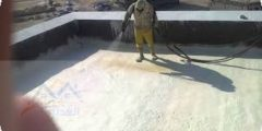 عزل السطح قبل البلاط